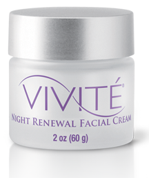 Vivite Night Renewal Facial Cream Lg Dermatology Amp Laser